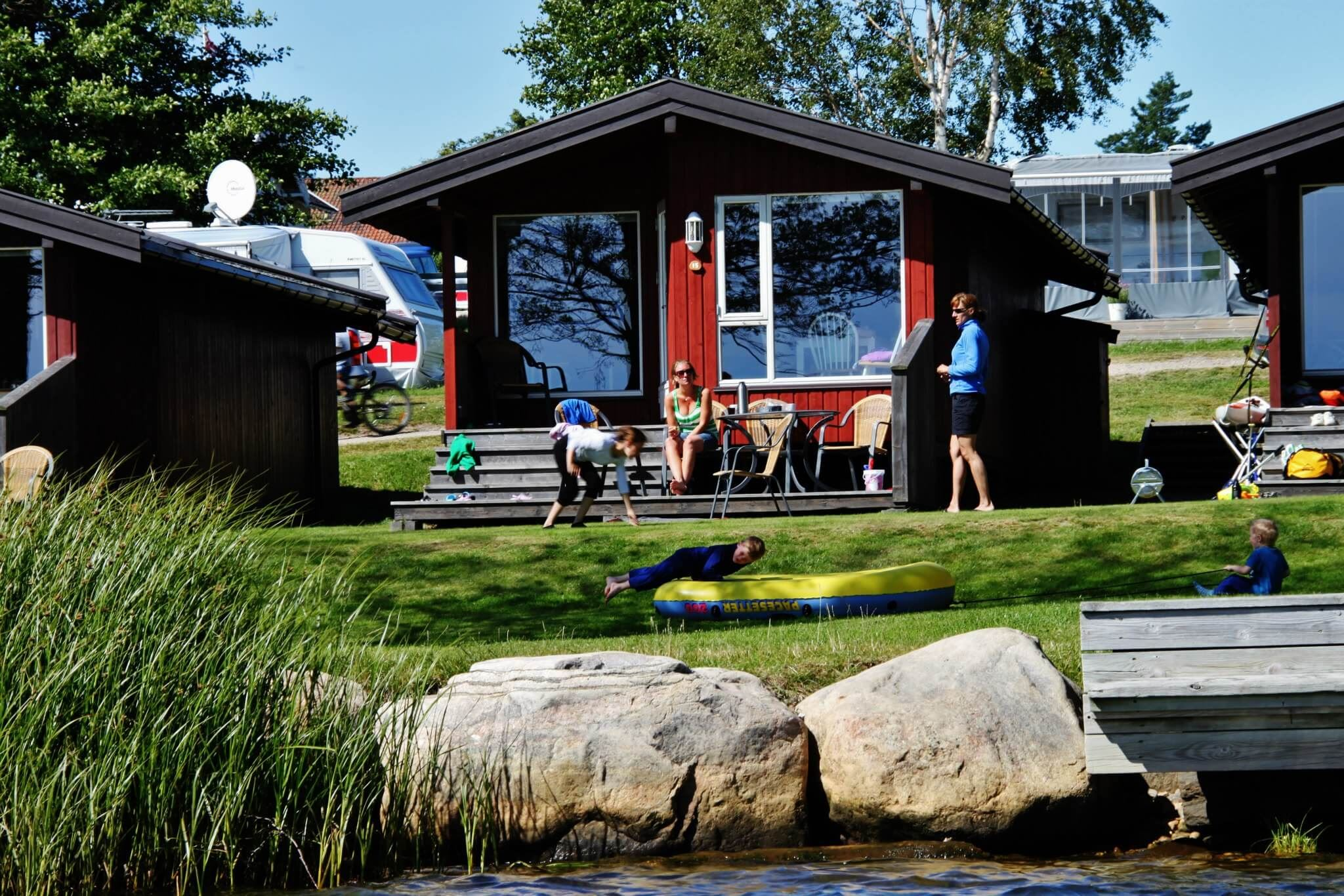Tingsaker Camping für familie