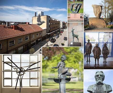 Guide till offentlig konst i Nässjö