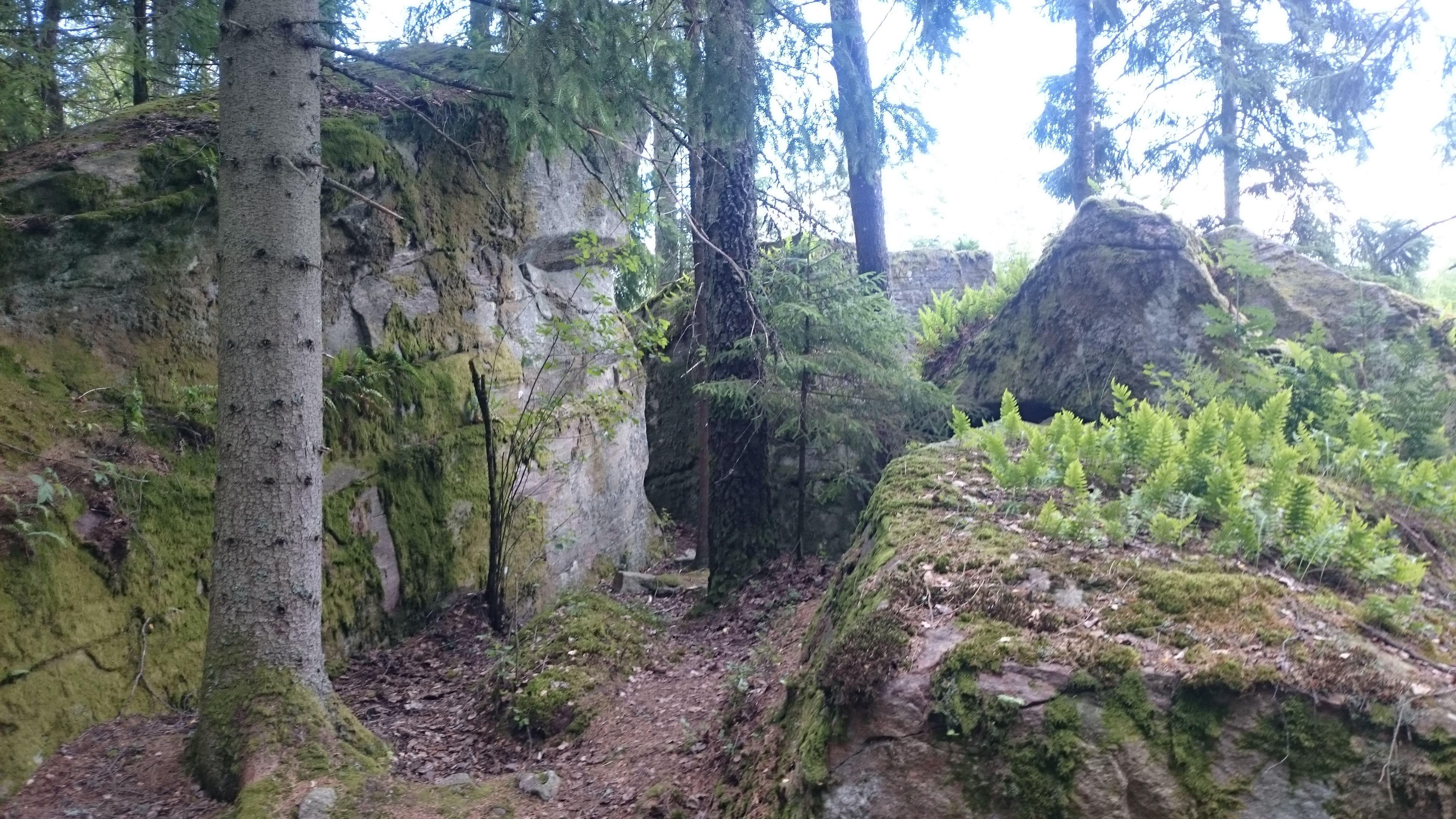Die Grotte des Tullberg