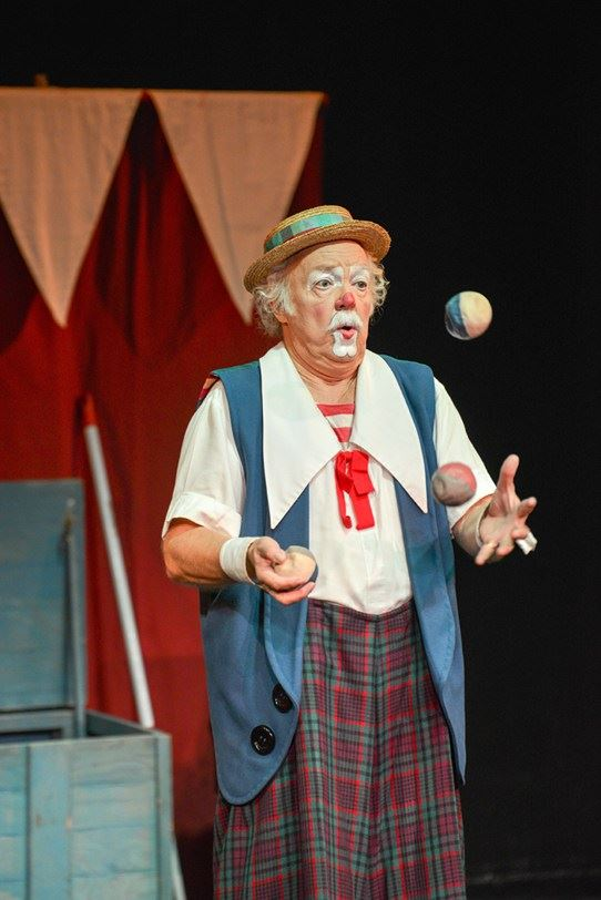 Clownen och cirkusprinsessan – Clown Raimondo