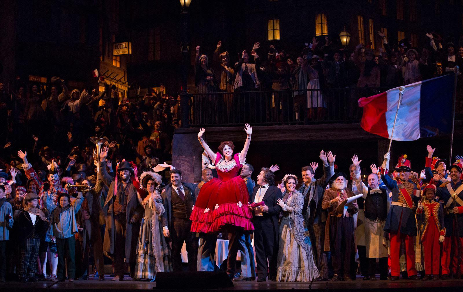 Metropolitan opera live 2018 La Bohéme