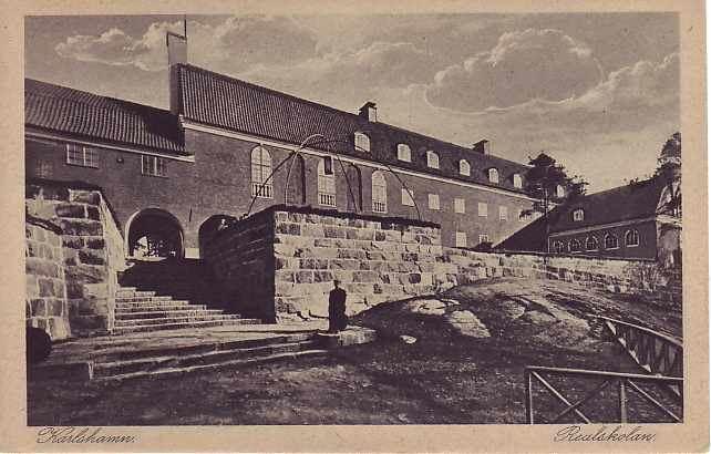 Arkitekt Gunnar Asplunds realskola i Karlshamn fyller 100 år