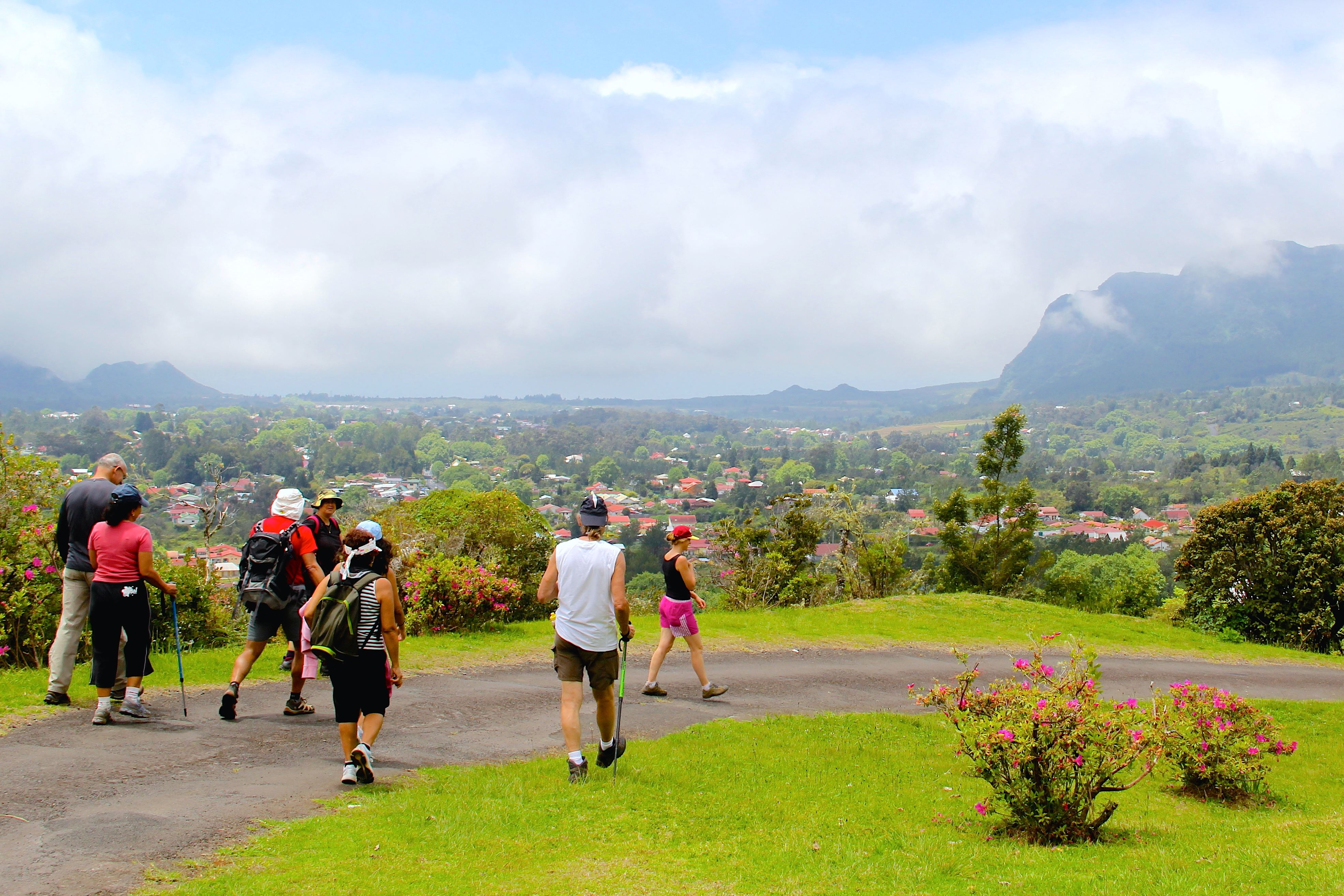 Guided walk to Piton des Songes
