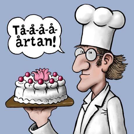 INSTÄLLD! Tårtan