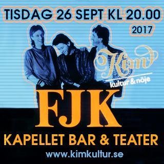 FJK spelar på Kapellet i Norrtälje