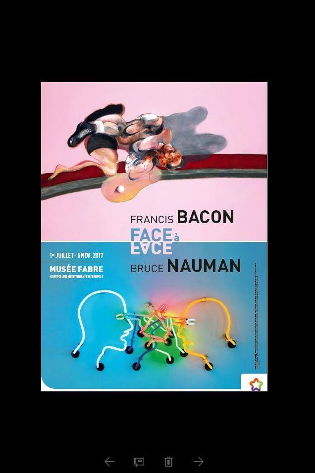 """Rendez-vous au Musée Fabre pour l'exposition """"Bacon / Nauman"""""""