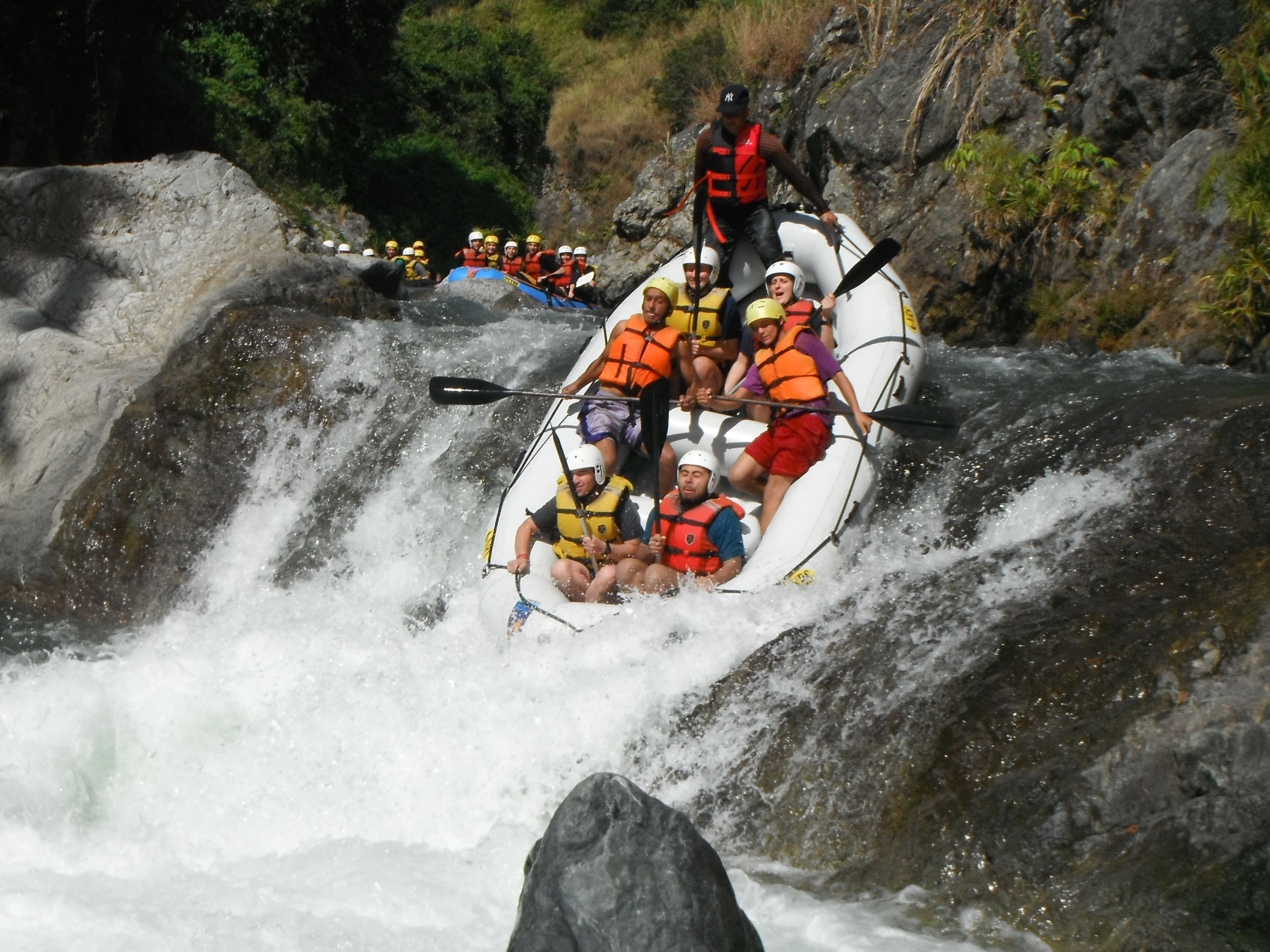 Rafting at Yaque del Norte River