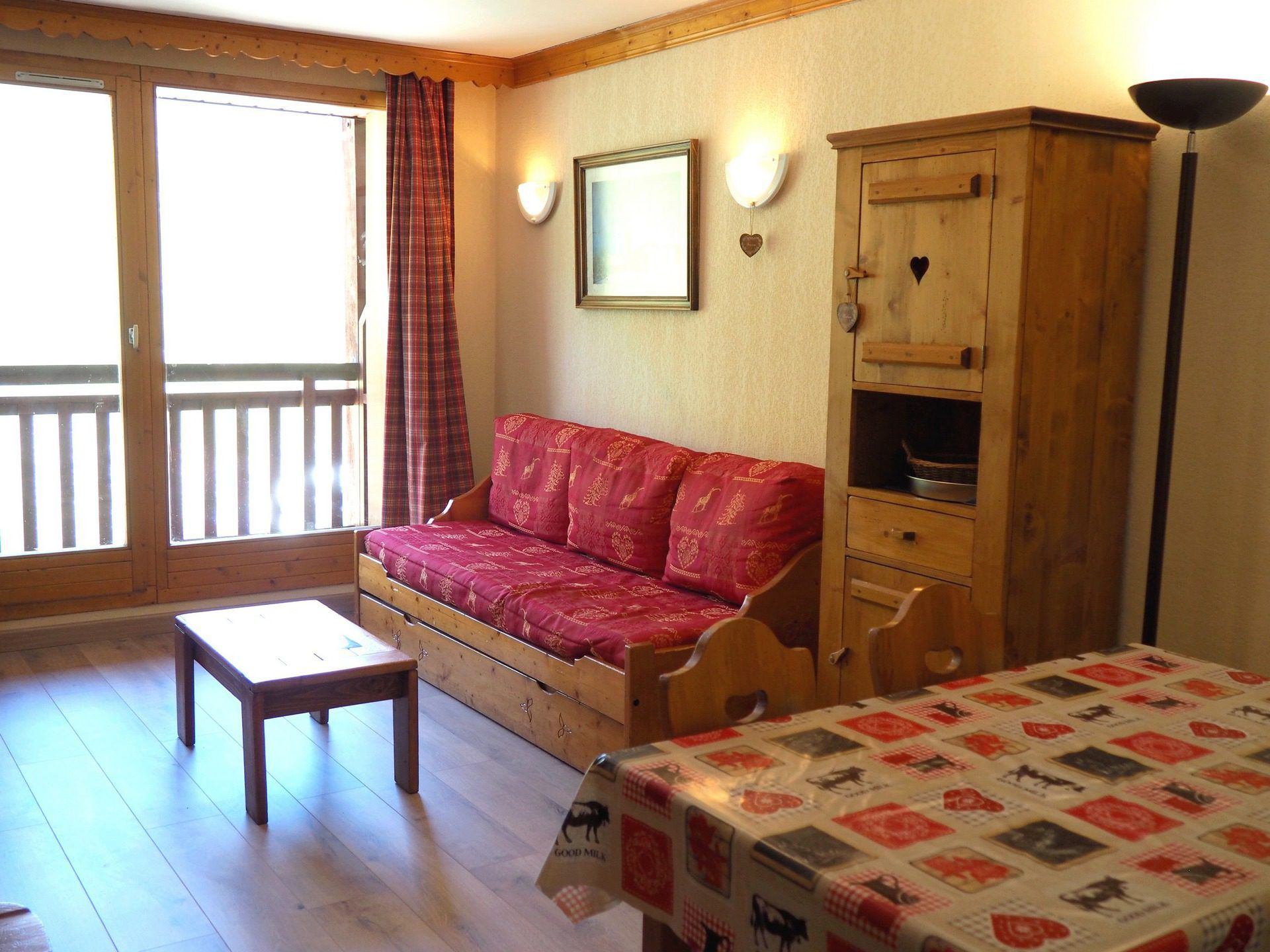 3 Rooms 6 Pers ski-in ski-out / VALMONTS 504