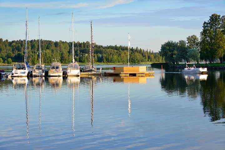 Kanaludden - Södra Sundet Härnösand