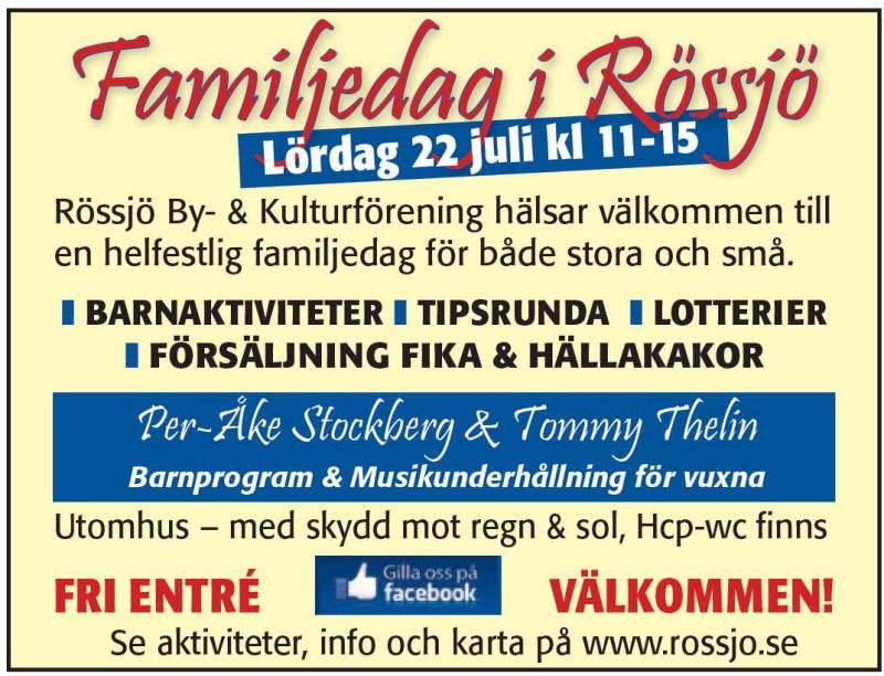 Familjedag i Rössjö