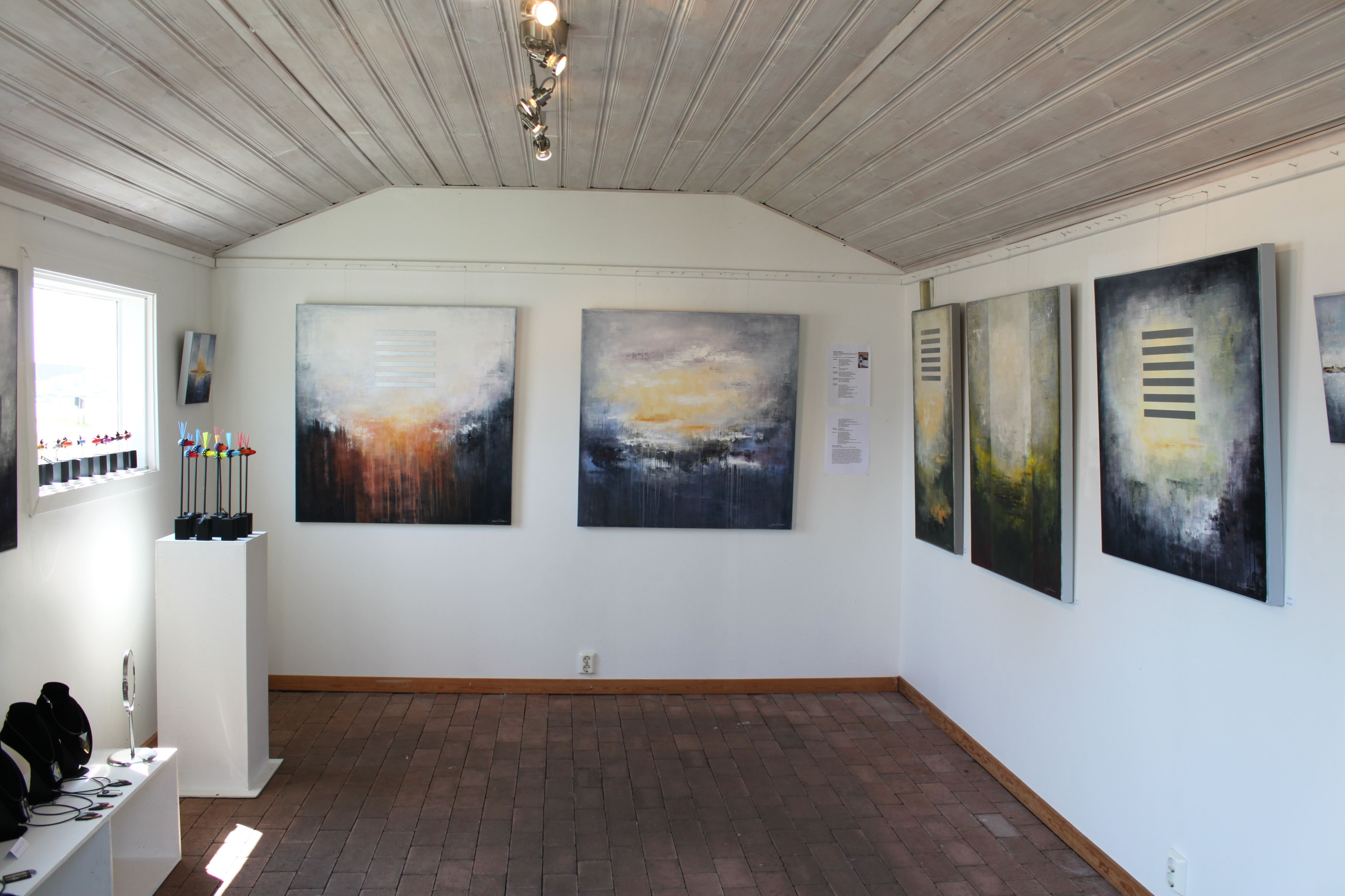 Konstutställning i Hällevik vid Hamnplan