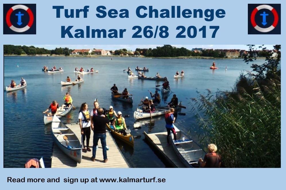 Kanotevent i centrala Kalmar - Turf Sea Challenge Kalmar 2017