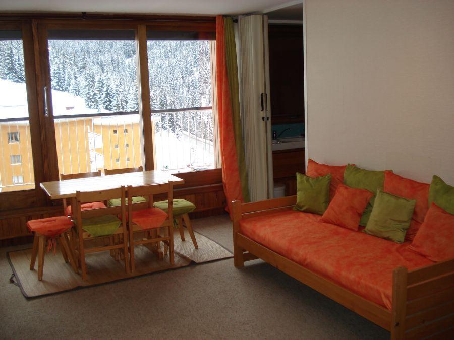Studio 3 people ski-in ski-out / ARIONDAZ B243