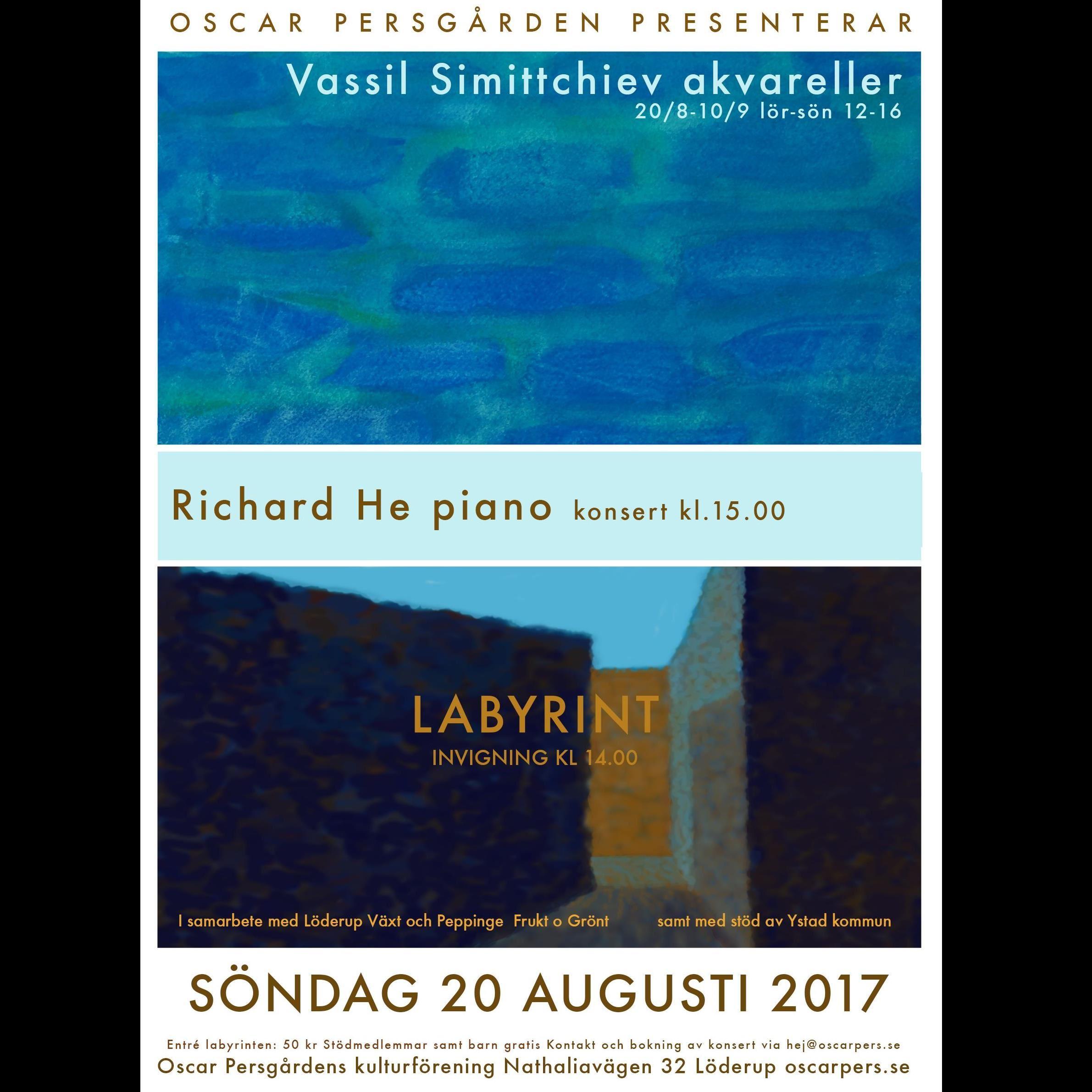 Labyrint - konsert och utställning