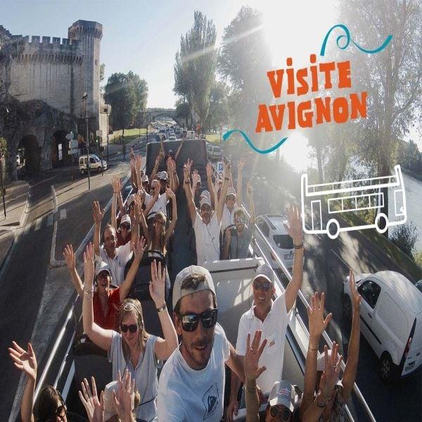 Visite Avignon: Bus touristique/Open Tour and / or Touristic Train
