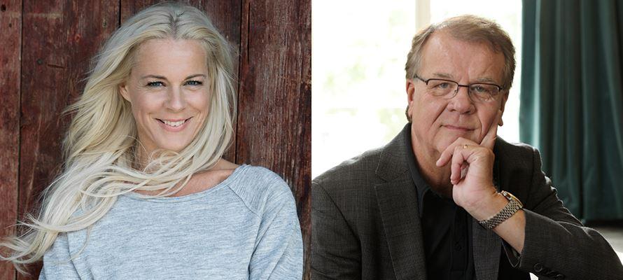 Malena Ernman & Lasse Berghagen - Julen är nära
