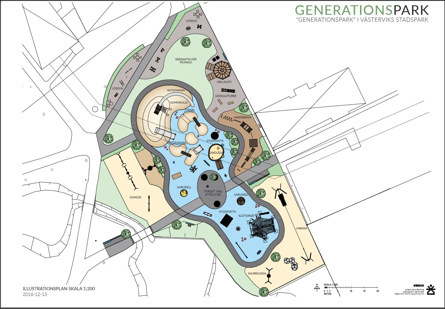 Stadsparken's generation park
