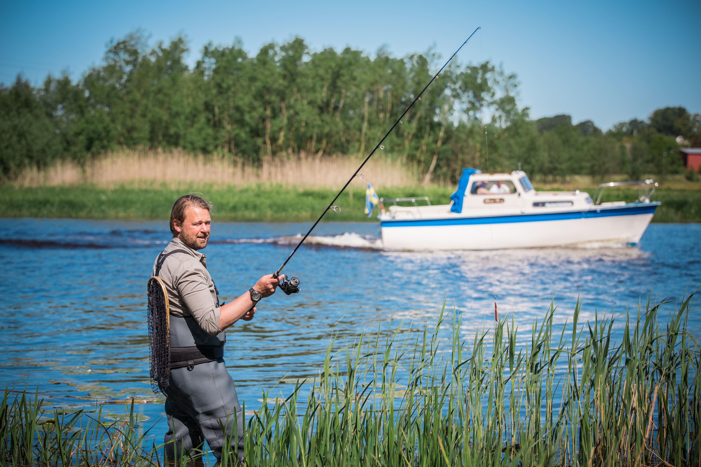 Angeln in den Flüssen Rönneå & Vegeå und im See Västersjön
