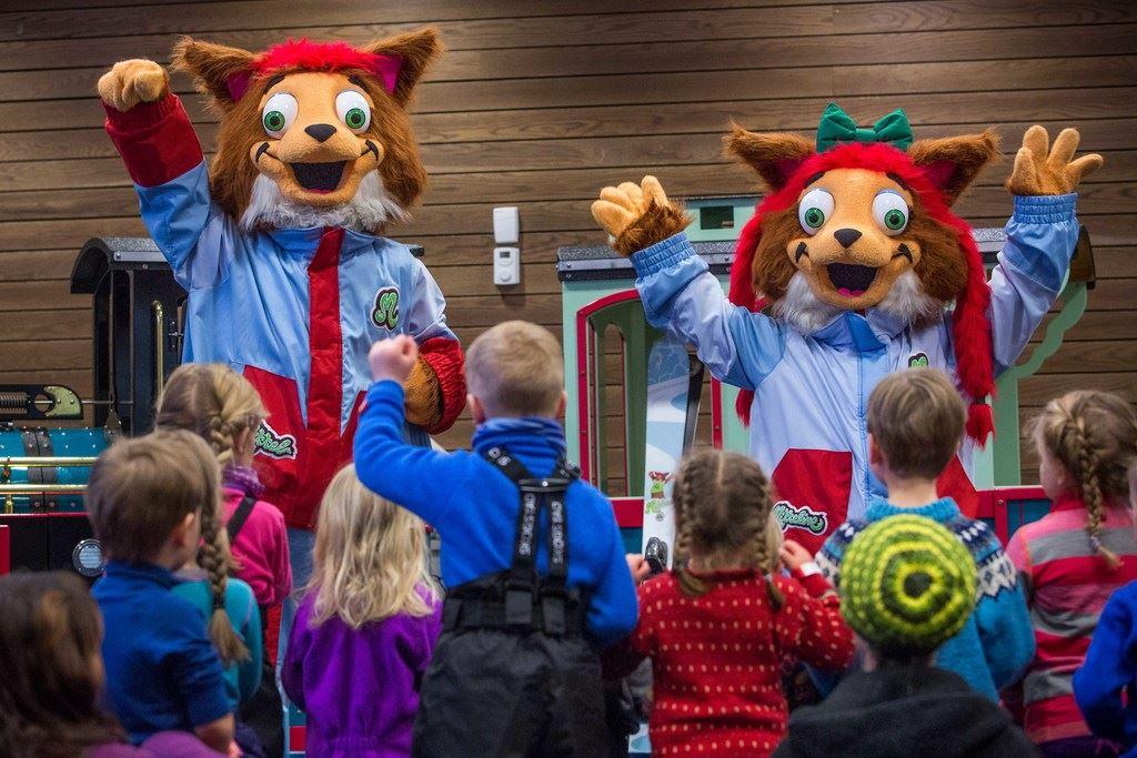 Barnefestival i Myrkdalen med Mikkel og Mikkeline