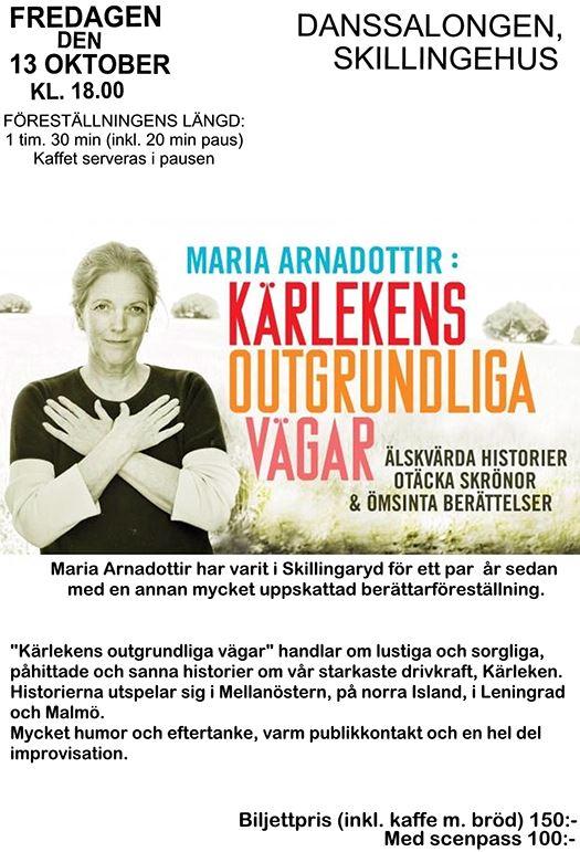 Maria Arnadottir: Kärlekens outgrundliga vägar