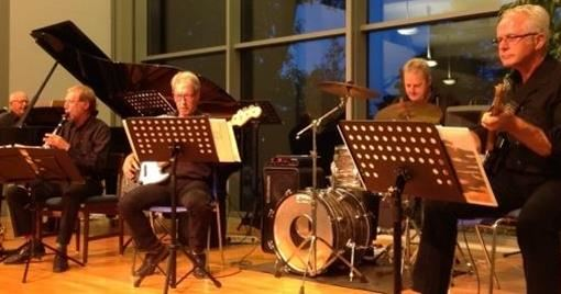 Koncert med Los Senilos på Højskolen Marielyst