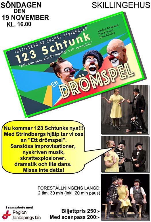 """123 Schtunk """"Ett drömspel"""""""