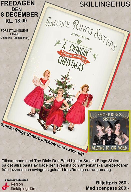 "Smoke Rings Sisters presenterar ""A swingin' christmas"""