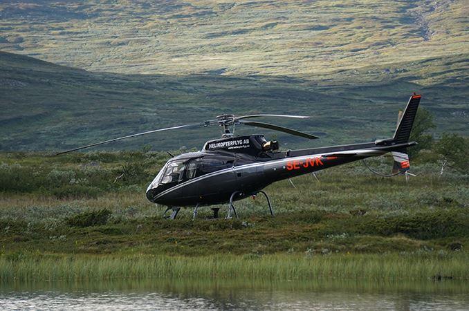 Helikopterflyg