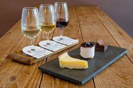 WINE FLIGHT (Blancs) + fromages