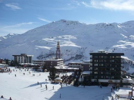 2 Rooms 5 Pers ski-in ski-out / CHAVIERE 523