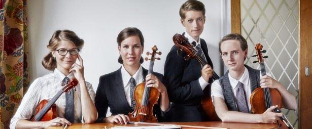 K-J Hjertström, Musikcaféserien - Vindla String Quartet