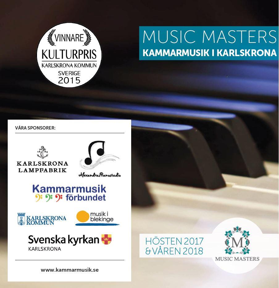 MUSIC MASTERS- KAMMARMUSIK I KARLSKRONA