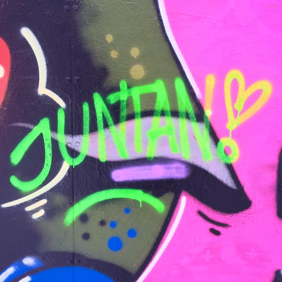 Graffitiworkshop med Juntan