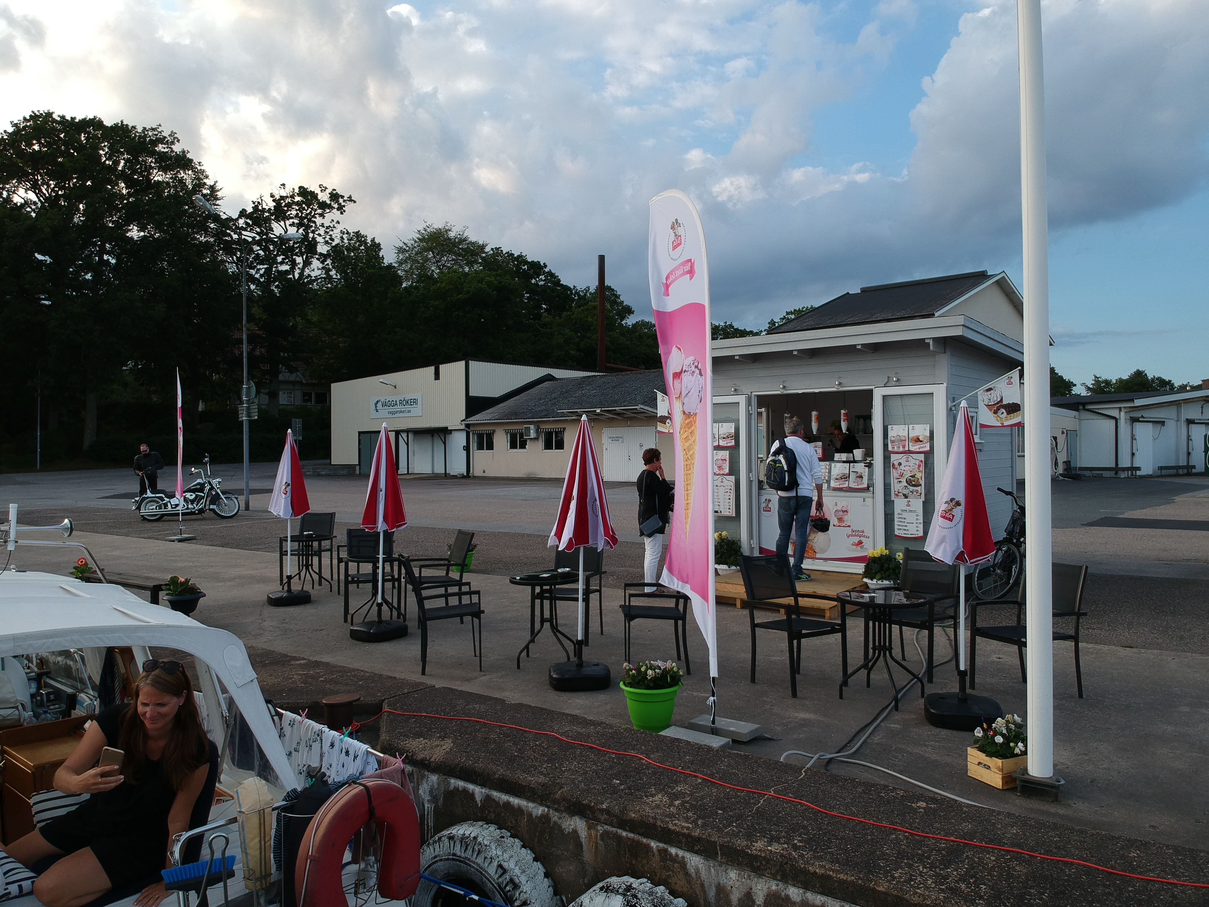 Vägga ice cream bar