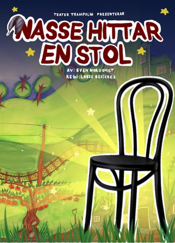 Tuva Leiknes,  © http://teatertrampolin.se/, Nasse hittar en stol - föreställning på Gummifabriken