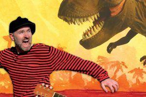 Pappa Kapsyl - Jagad av en T-Rex