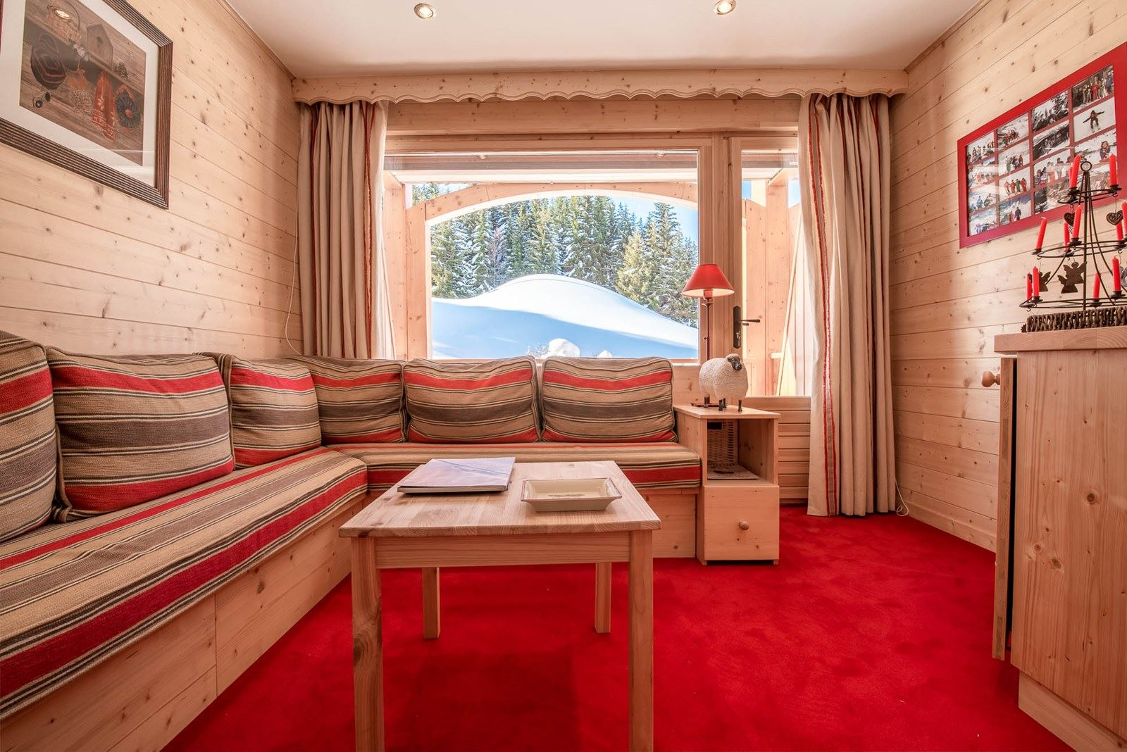 3 rooms 4 people ski-in ski-out / NOGENTILS A 202 (mountain of charm)
