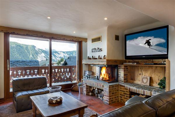 6 rooms 10 people ski-in ski-out / SAINT NICOLAS (mountain of dream)