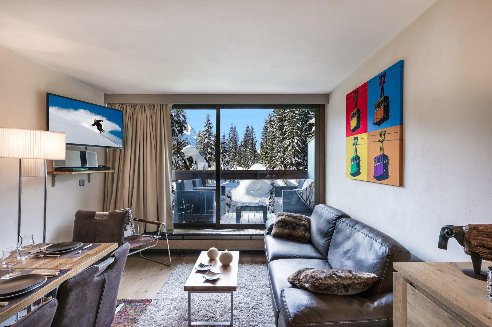 3 pièces 6 personnes skis aux pieds / DOMAINE DU JARDIN ALPIN 310A (montagne de rêve)