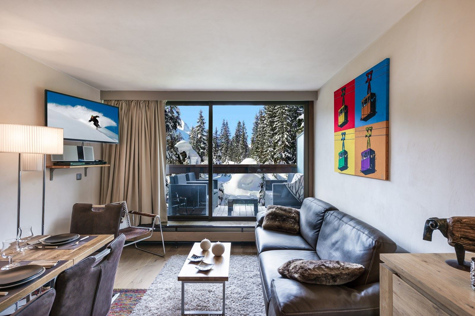 3 rooms 6 people ski-in ski-out / DOMAINE DU JARDIN ALPIN 310 A (mountain of dream)