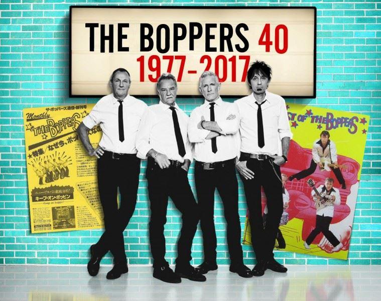 The Boppers 40årsjubileum på Hotell Hallstaberget