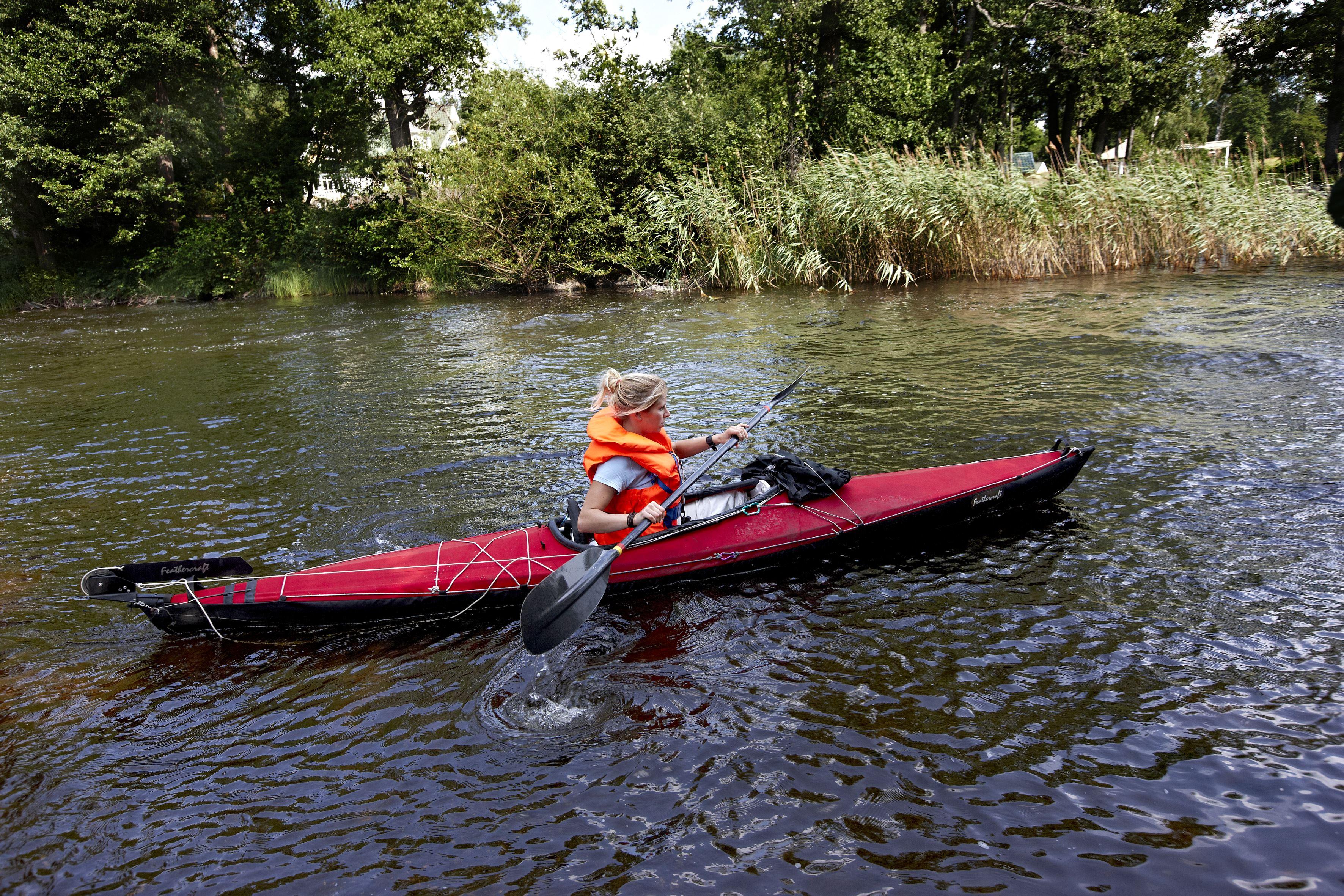 Prova på paddling (kajak)