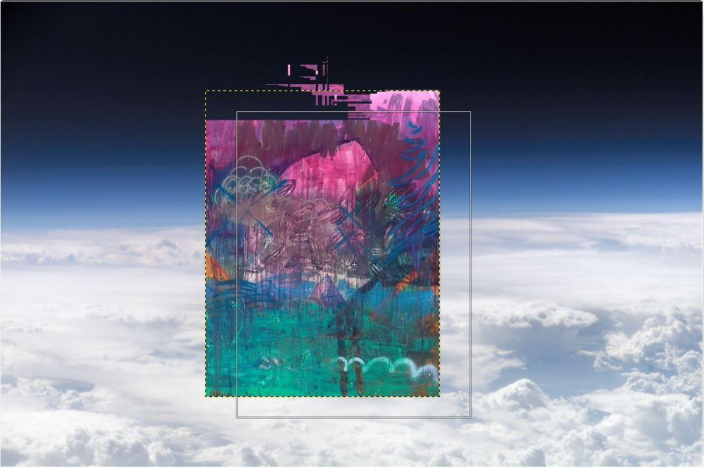 Utställning: Genom atmosfären ser himlen blå ut