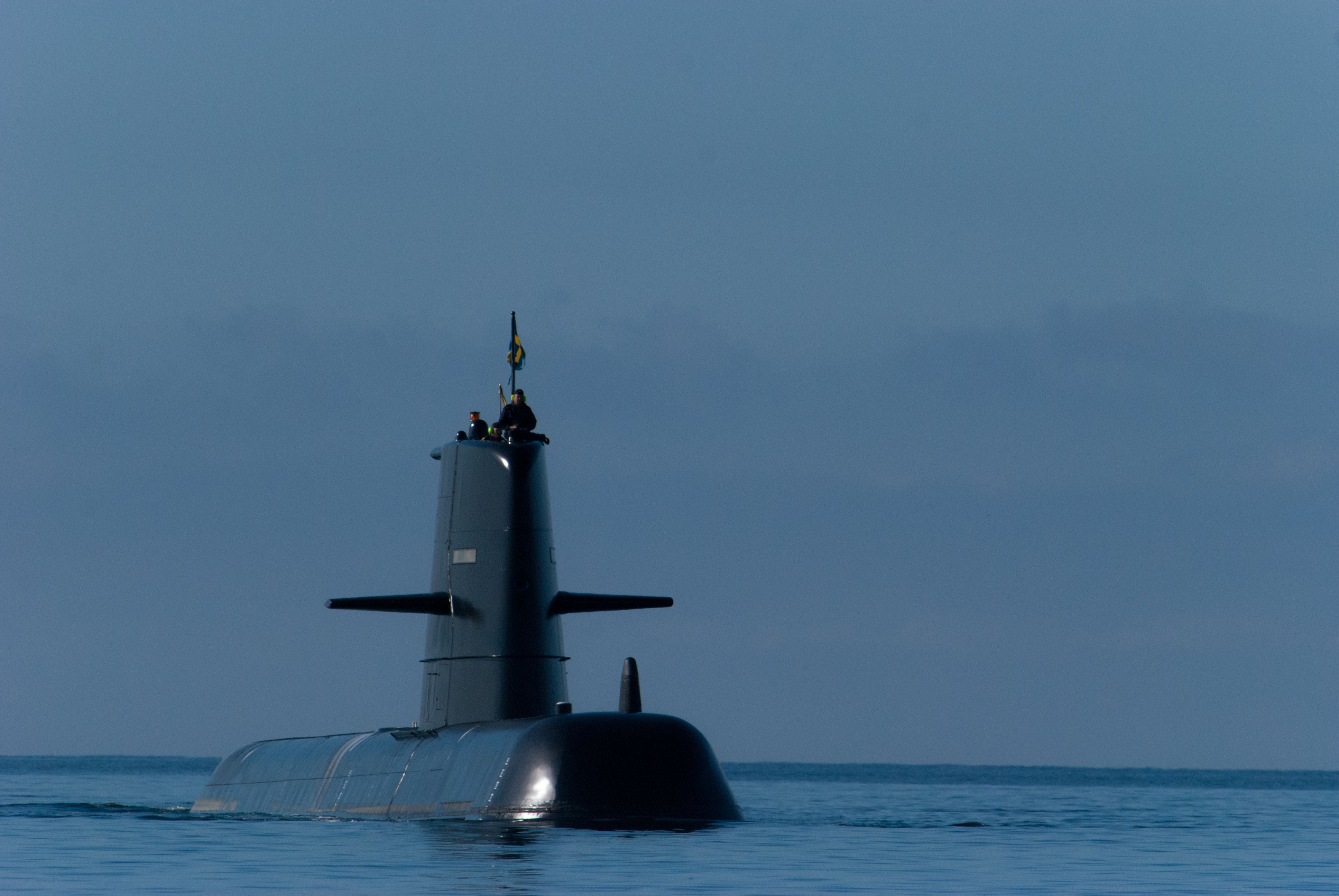 Första ubåtsflottiljen på besök