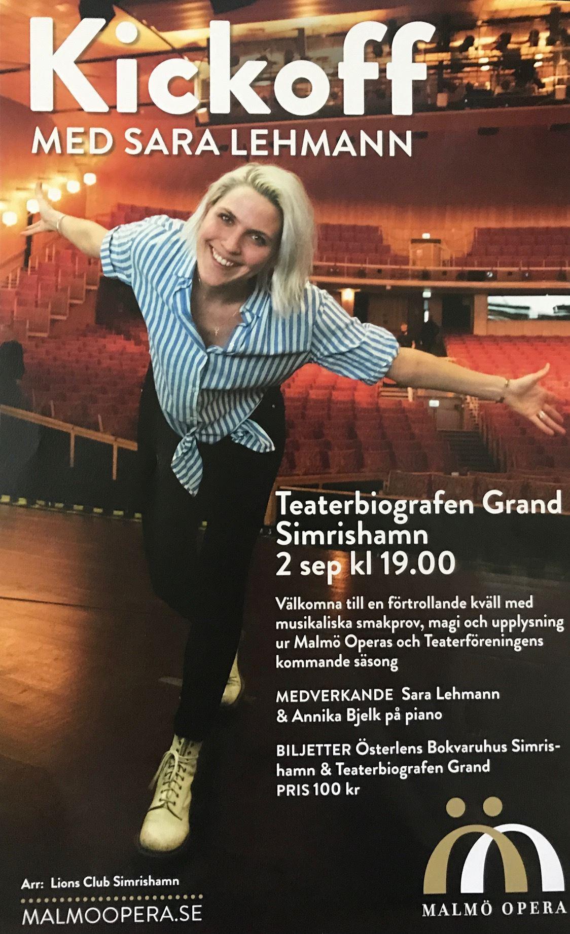Kickoff Malmö Opera