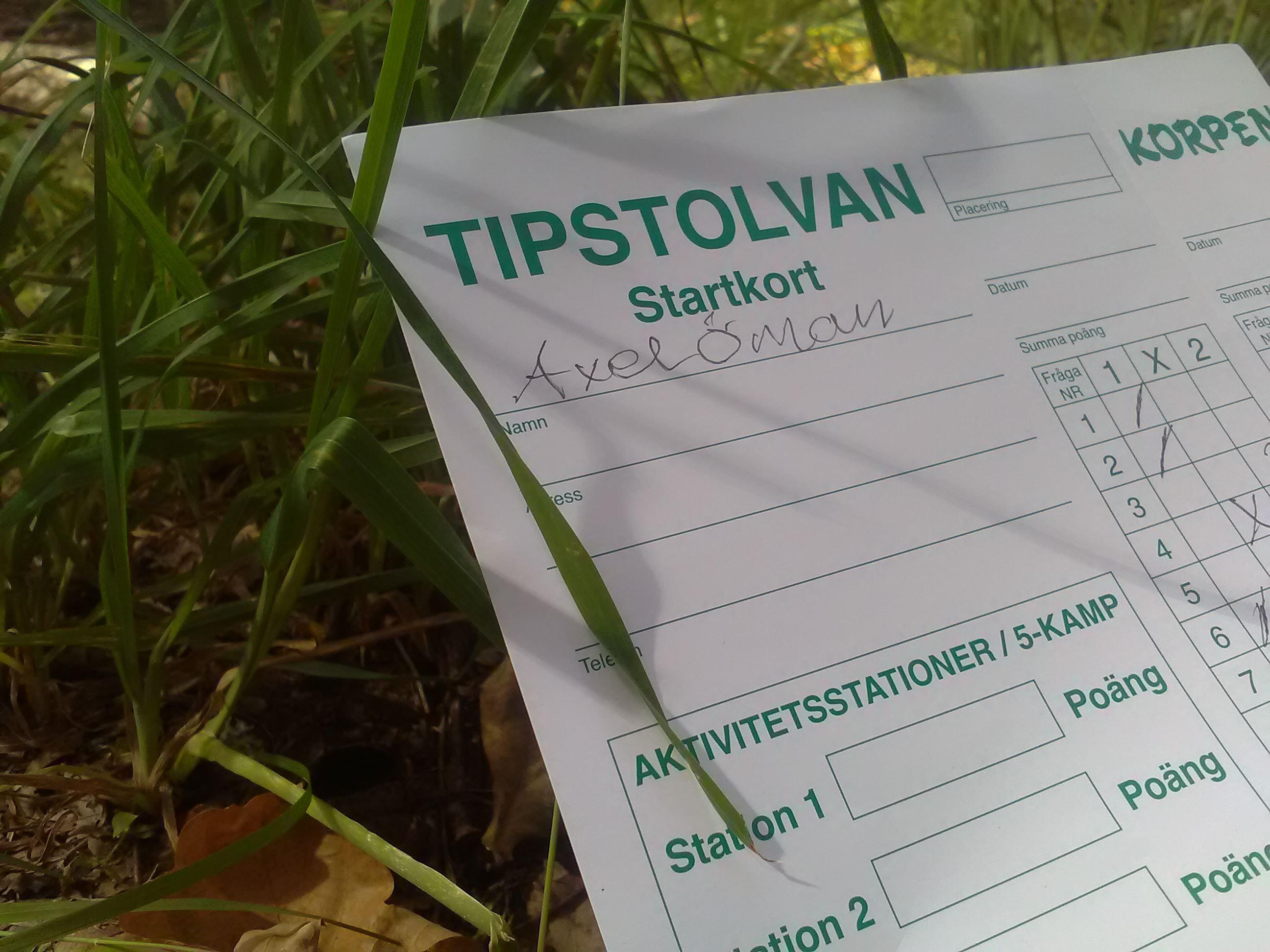 Tipstävlingar/Tipspromenad