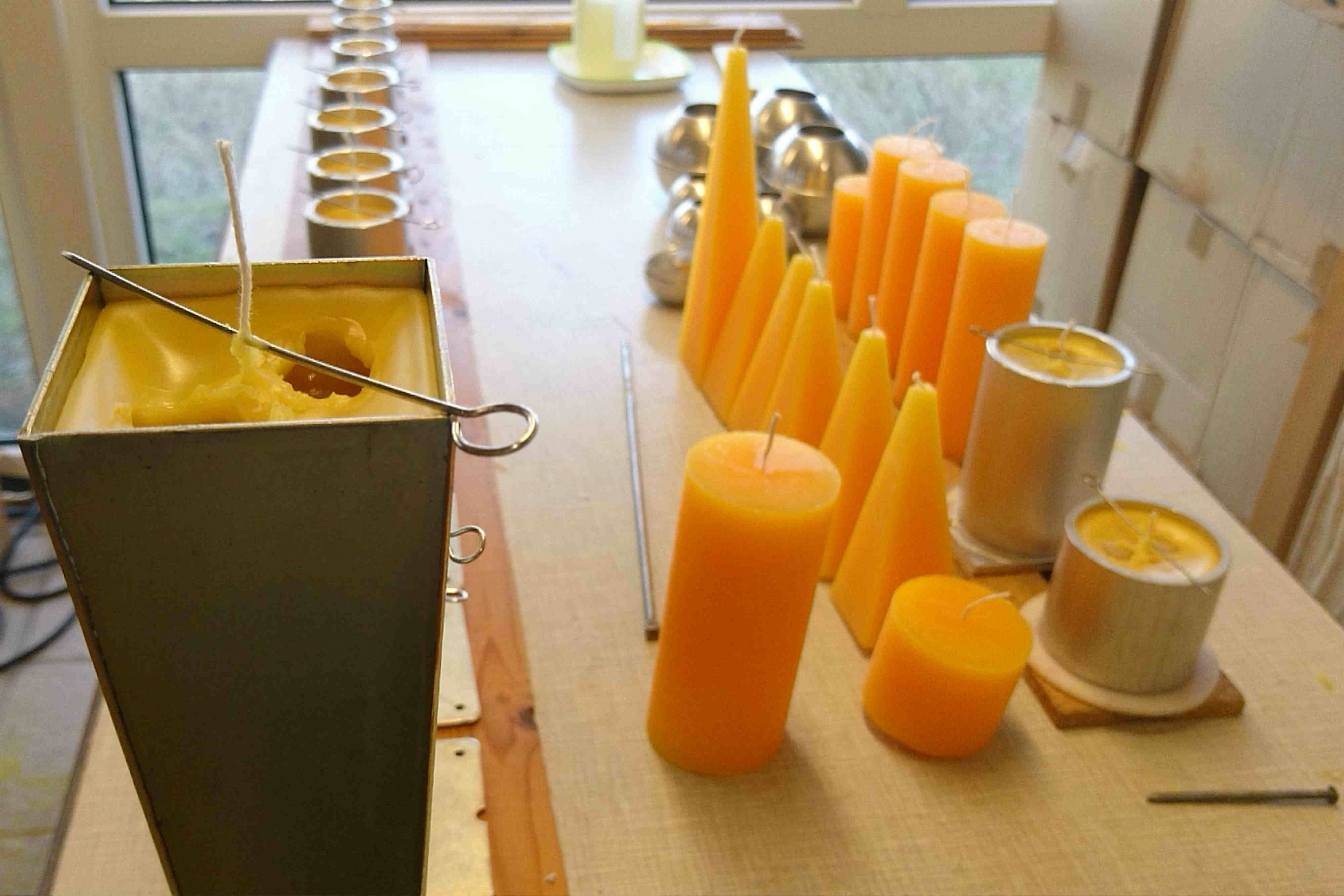 Club Fanø Workshop in advanced candle making