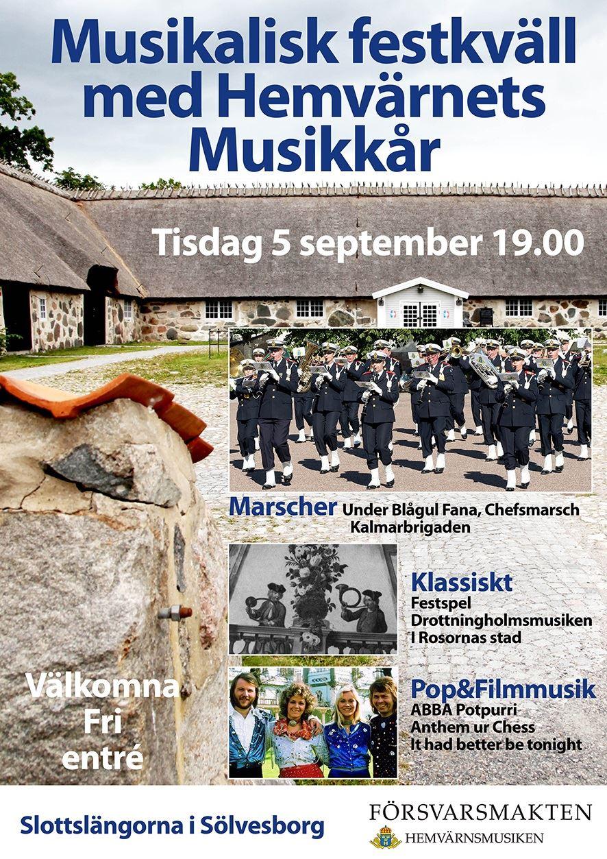 Musikalisk festkväll i Slottslängorna