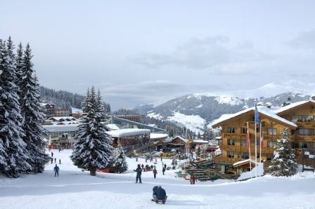 4 pièces 6 personnes skis aux pieds / GRANDES ALPES (montagne de rêve)