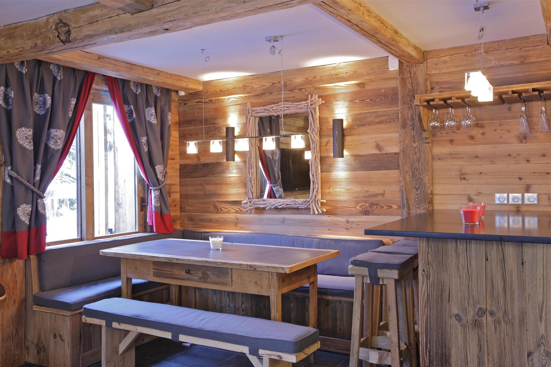 4 rooms 8 people / CHALET AJACOUR (mountain of dream)